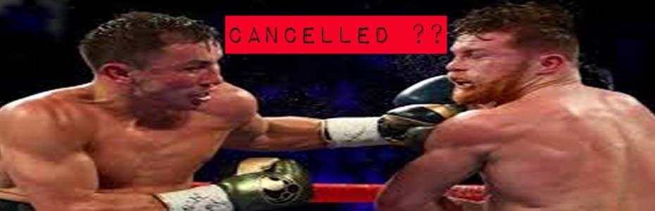 Golovkin vs Canelo a rischio cancellazione